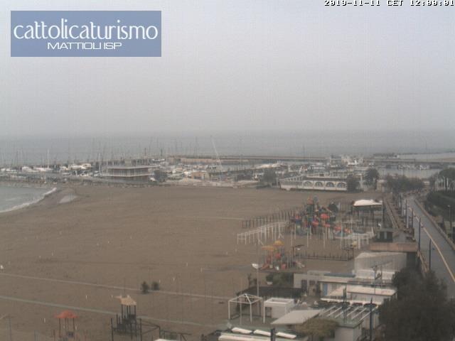 Cattolica webcam - Cattolica Vista Sud webcam, Emilia-Romagna, Rimini