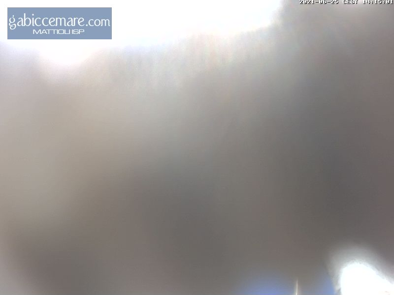 Webcam Gabicce Mare sud